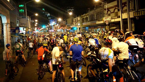 Durbanites join in the Critical Mass