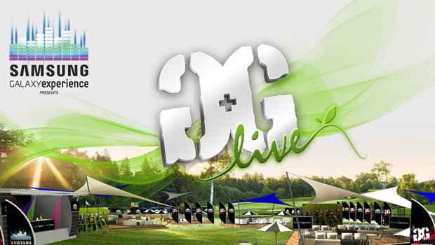 Samsung GALAXY Experience Presents The G&G Live Marquee at the Vodacom Durban July