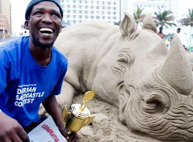 Last Years Winner Tembinkosi Kole