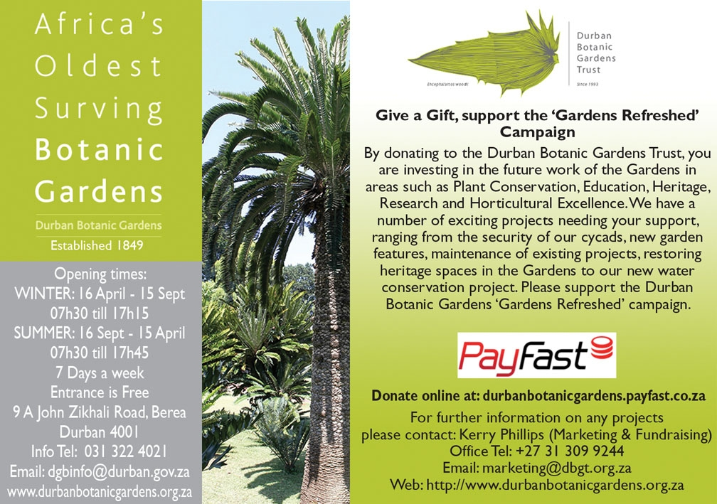Give a Gift, support the 'Gardens Refreshed' Campaign
