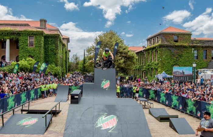 SA's biggest action sports athletes take to the ramp with Mountain Dew