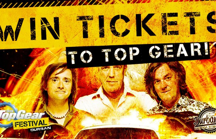 Win Tickets to Top Gear Live in Durban