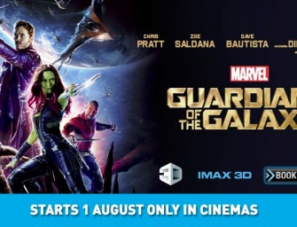 STER-KINEKOR RELEASES GUARDIANS OF THE GALAXY IN IMAX® 3D AT GATEWAY AND NEW THEATRE AT THE GROVE MALL