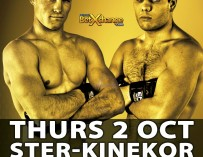 EFC 34 AND EXCLUSIVE STER-KINEKOR PRELIM BOUTS EXCLUSVIE TO SELECT CINEMAS ON 02 OCTOBER