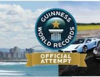 SOUTH AFRICA'S SUPER-RICH ATTEMPT TO BREAK A WORLD RECORD FOR CHARITY