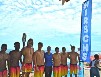 HIRSCH SUPPORTING  OCEAN HEROES PADDLERS