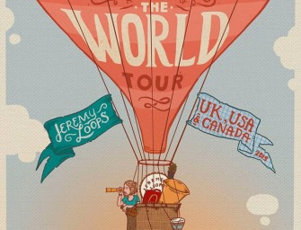 We're on a world tour! Please help us not blow this!