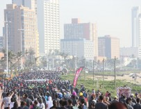 Thousands walk Durban together at the Discovery East Coast Radio Big Walk!