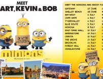 MEET THE MINIONS FROM THE NEW MINIONS FILM AT A STER-KINEKOR CINEMA NEAR YOU