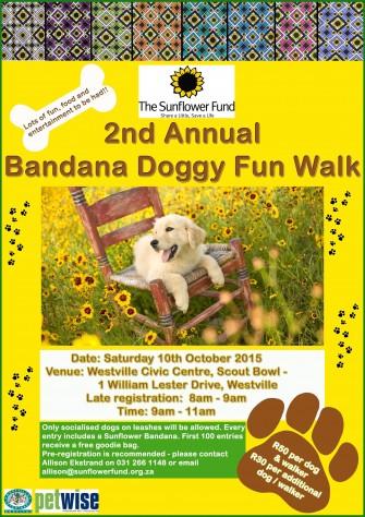 2nd Annual Bandana Doggy Fun Walk