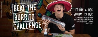 Four15 raises awareness through their Beat the Burrito Challenge!