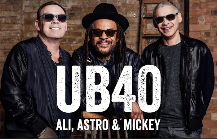 BIG CONCERTS: UB40 with Ali, Astro & Mickey announce SA Tour