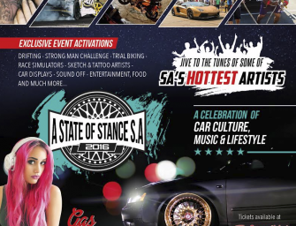 KZN to experience 'A State of Stance' motoring spectacular
