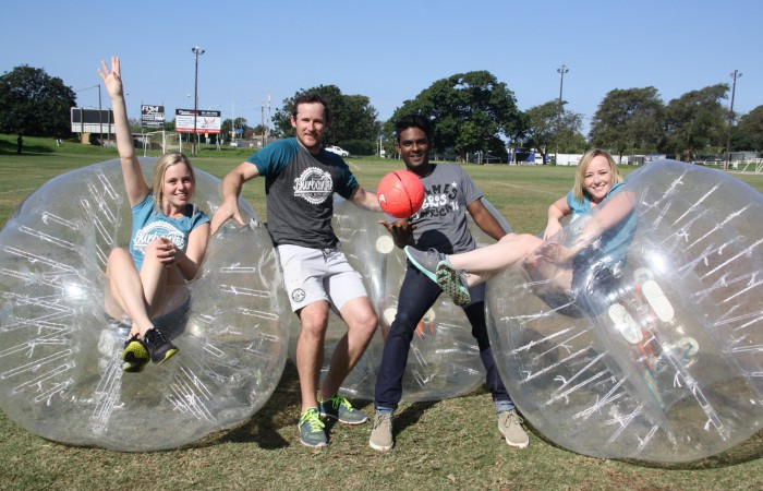Bubble Soccer Comes to Durban