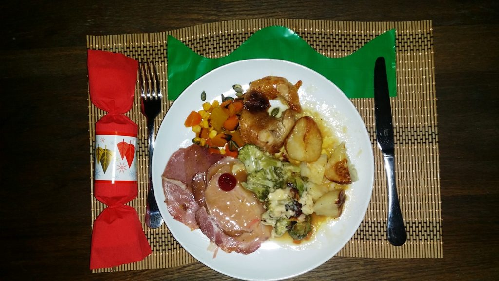 My Chef Christmas dinner is served! With very little effort on my part!