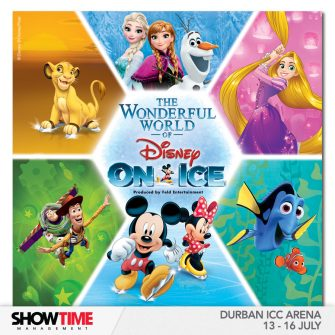 The Wonderful World of Disney On Ice now on in SA,  skating into Durban for the first time!