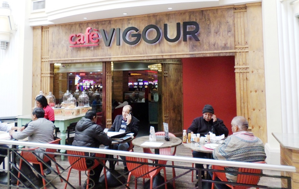 SPICED UP MENU - CAFE VIGOUR