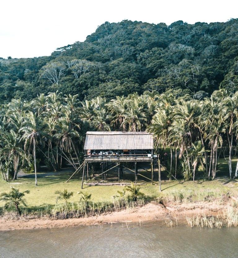 Umtamvuna River Lodge Drone Image: Armand Perou