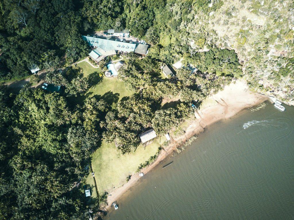Umtamvuna River Lodge Drone Image: Armand Perou Umtamvuna River Lodge Drone Image: Armand Perou