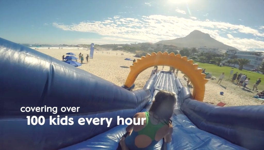 The NIVEA Sunslide is heading to a beach near you!