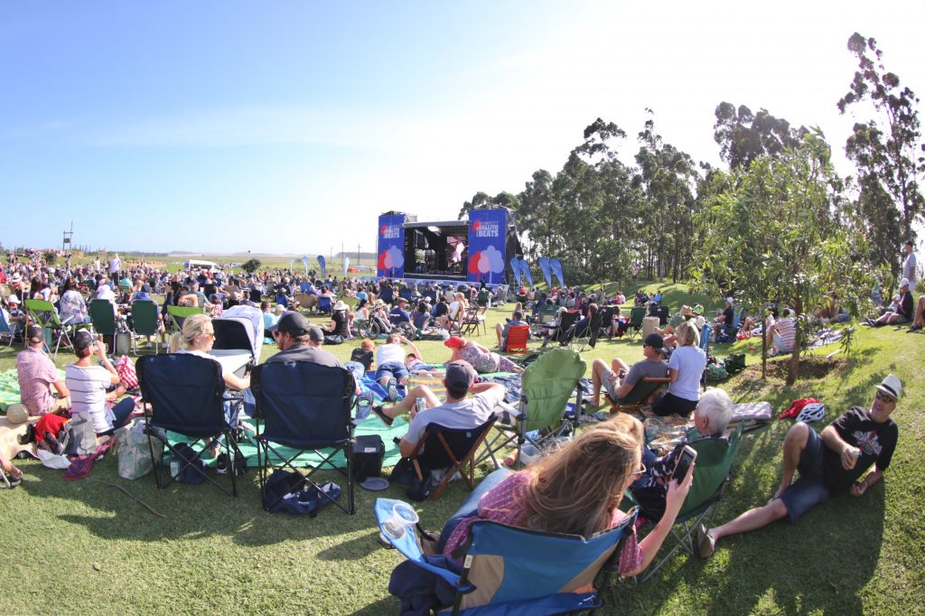 Sugar Rush Park looking beautiful with the crowds for Marriott Ballito Beats Concert Photo: Timothy Lubbe
