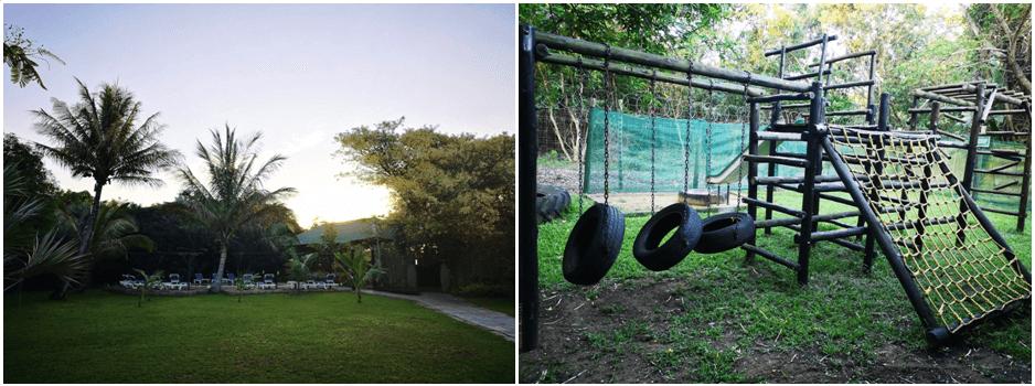 Emdoneni Lodge Garden Jungle Gym